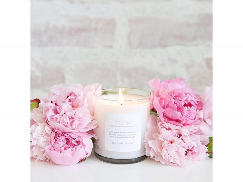 La candela profumata