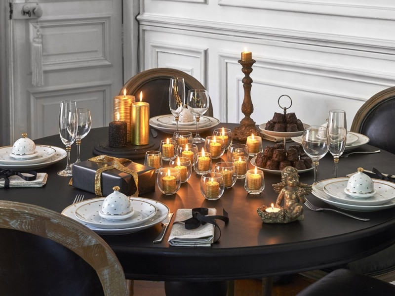 La tavola Merry Gold