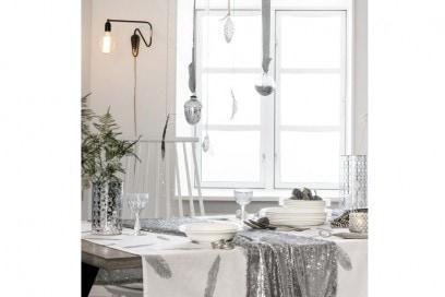 La tavola bianca e argento di H&M Home