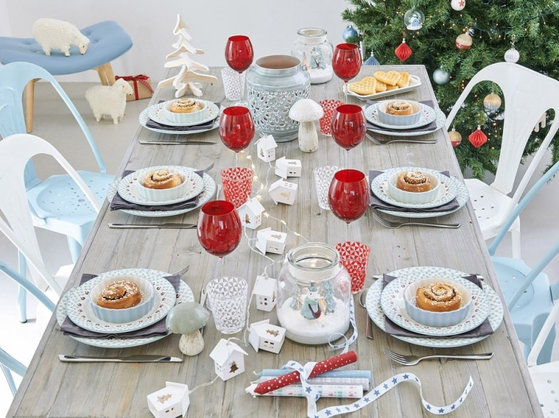 La tavola del Natale nordico