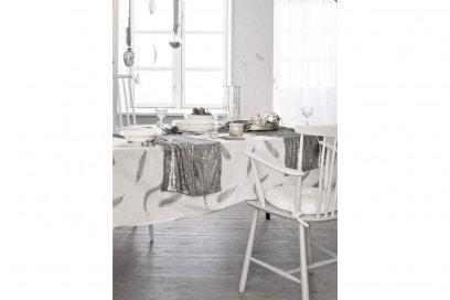 La tavola del natale brillante
