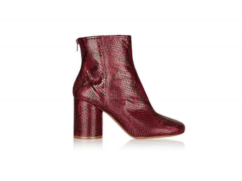 MAISON-MARGIELA-Snake-effect-leather-ankle-boots_NET