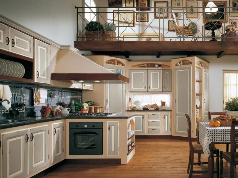Cucine in muratura classiche rustiche e country - Cucine in muratura lube ...