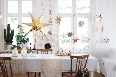 Natale bianco e oro con IKEA
