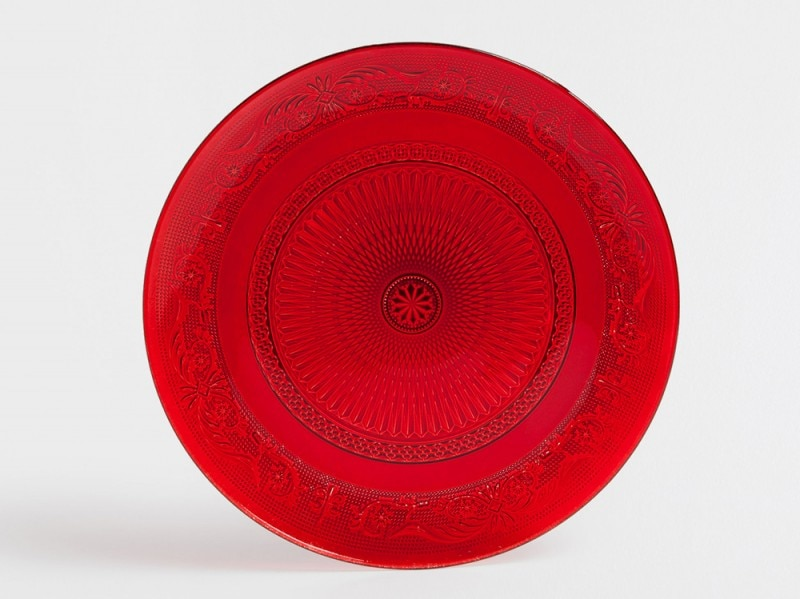 Piatto rosso