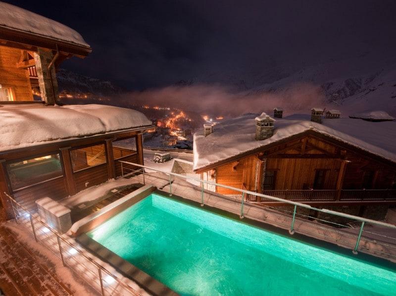 Principe delle nevi piscina