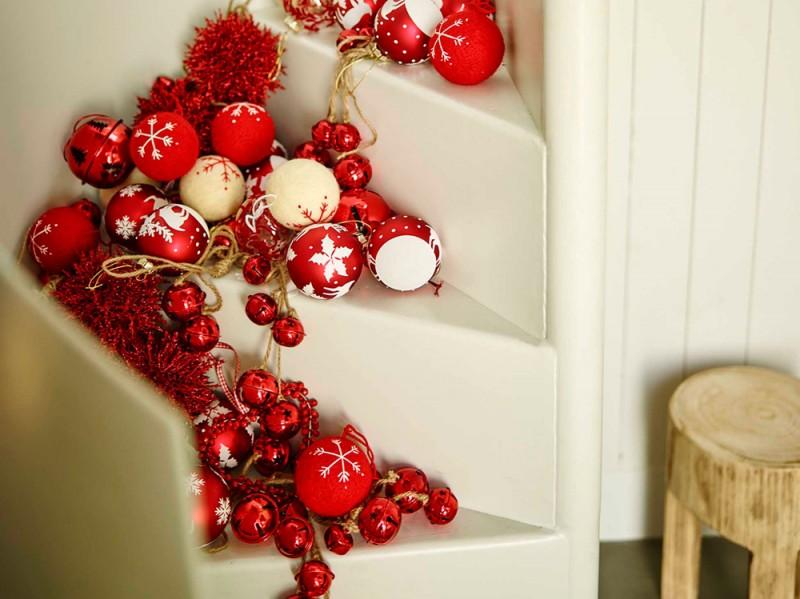 Rosso per gli addobbi di Natale