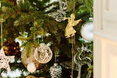 Semplicità e autenticità per gli addobbi del Natale di Zara Home