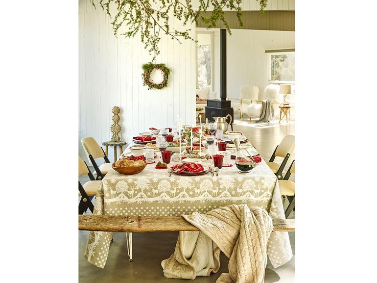 Tavola di Natale di Zara Home