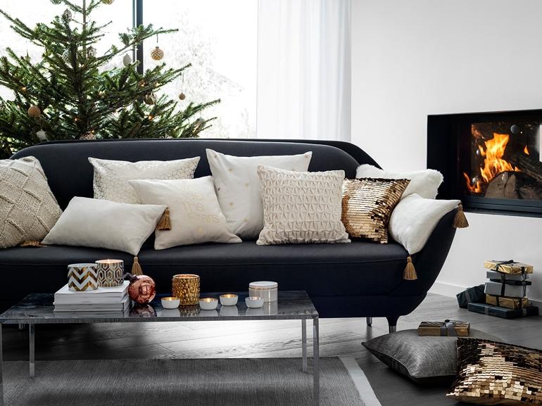 Una stufa a riscaldare laz ona living, H&M Home