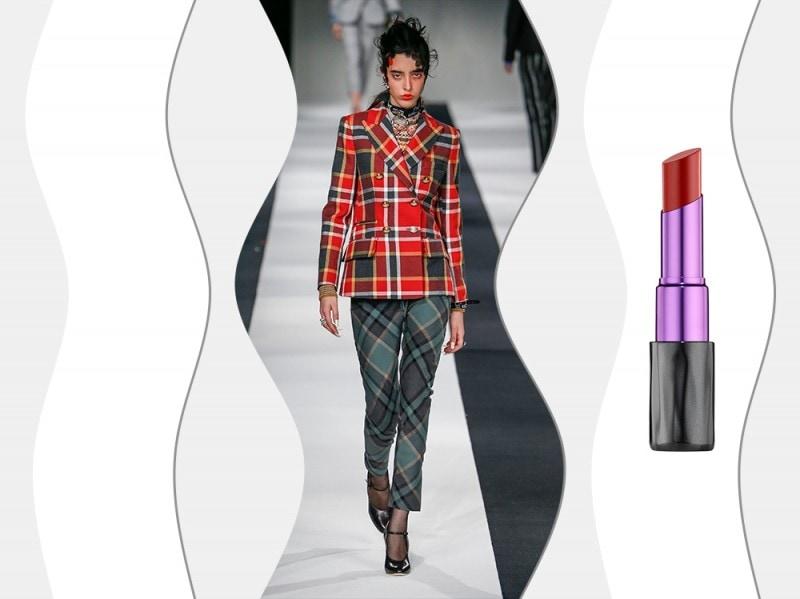 abiti-tartan-trucco-abbinamenti-2015-sfilata-Vivienne-Westwood-Red-Label