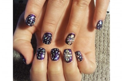shattered nails amdnails