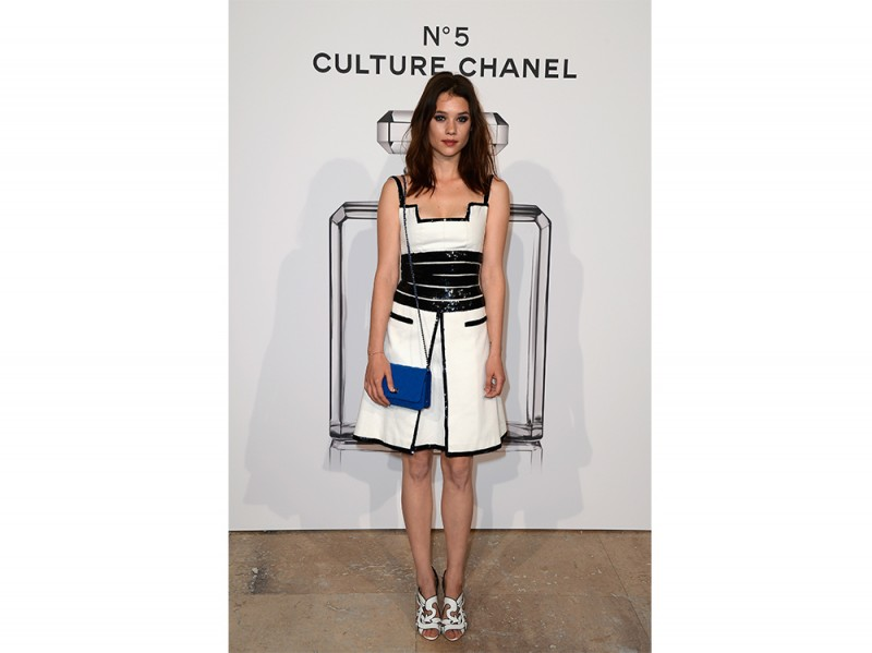 astrid berges frisbey n5 chanel exhibition 2013