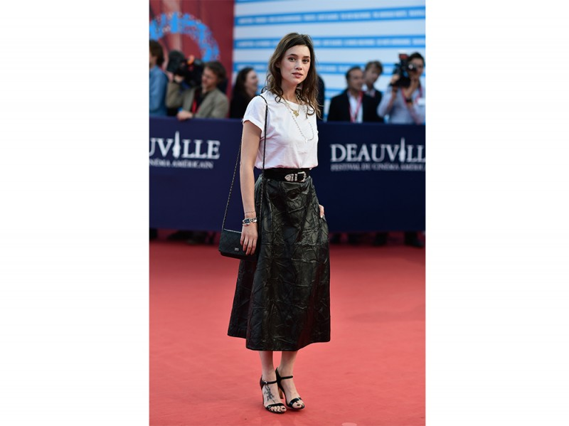 astrid berges frisbey premiere 2014