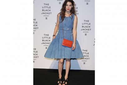 astrid berges frisbey the little black jacket launch 2012