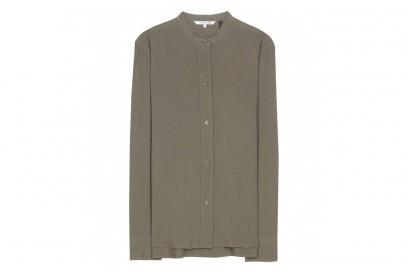 camicia verde oliva helmut lang