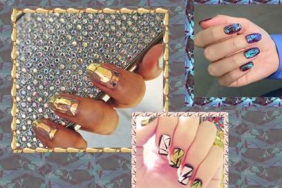Shattered nails: la nuova nail art che sta conquistando Instagram