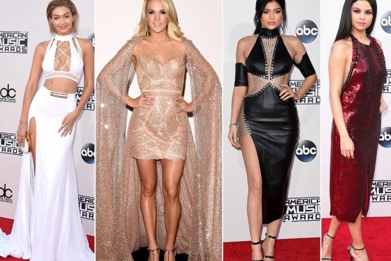 I look delle star agli American Music Awards
