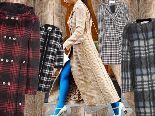 I cappotti a quadri per l'inverno 2015 Grazia.it