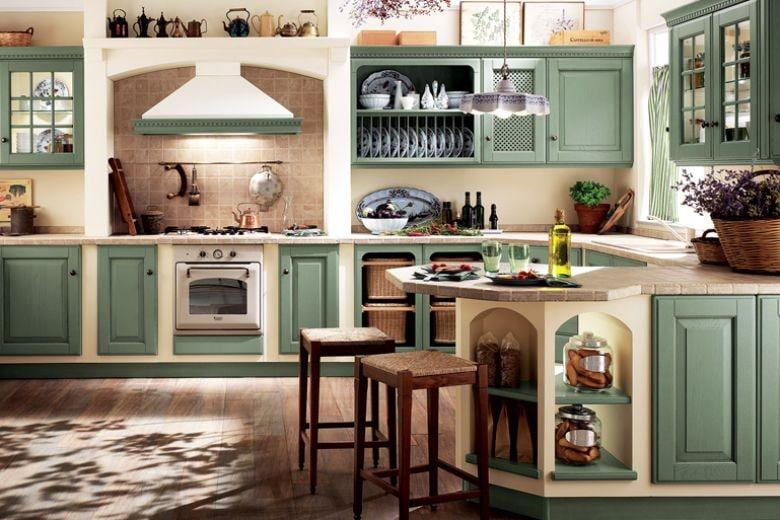 Cucine in muratura: classiche, rustiche e country