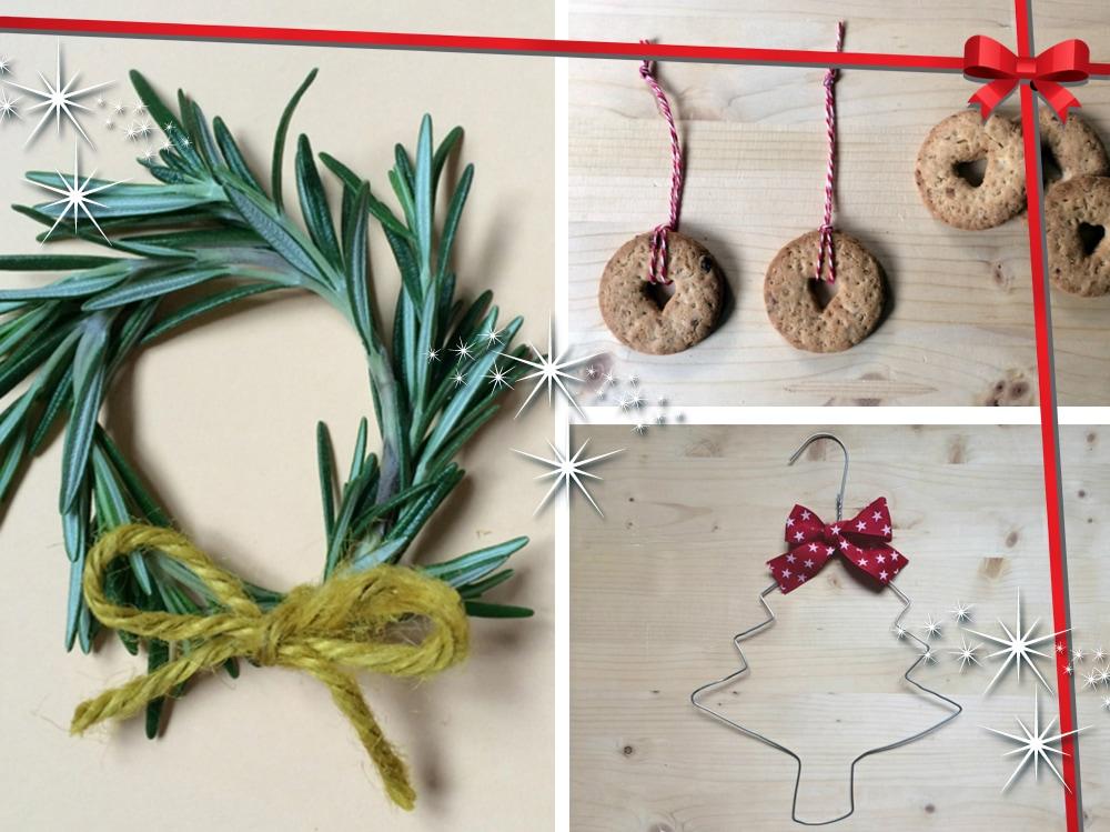 Decorazioni di natale fai da te idee e istruzioni grazia - Rami decorativi natalizi ...
