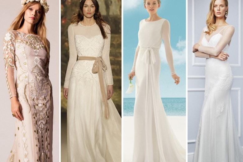 31 abiti da sposa a maniche lunghe
