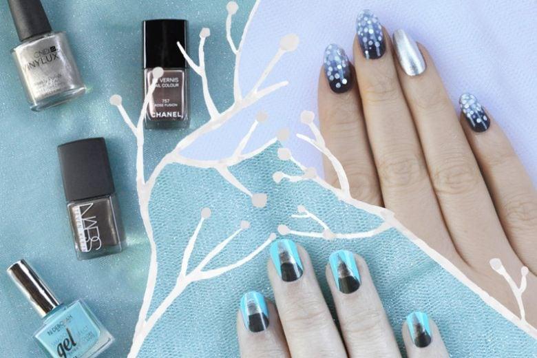 Le nail art di Non solo Kawaii per l'Inverno