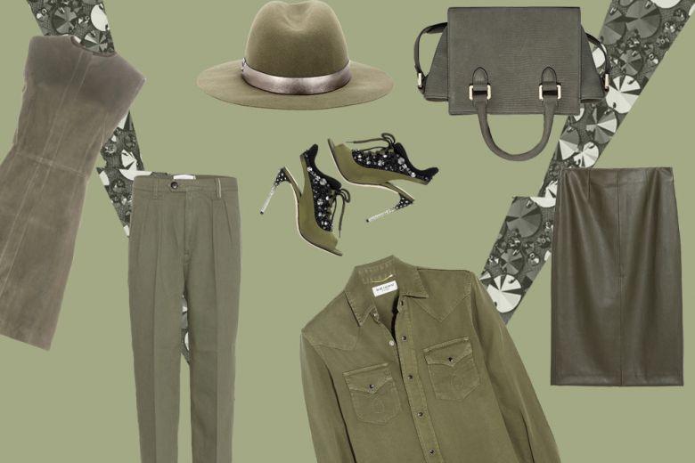 Tendenza verde militare: capi e accessori must-have per l'autunno inverno 2015/16