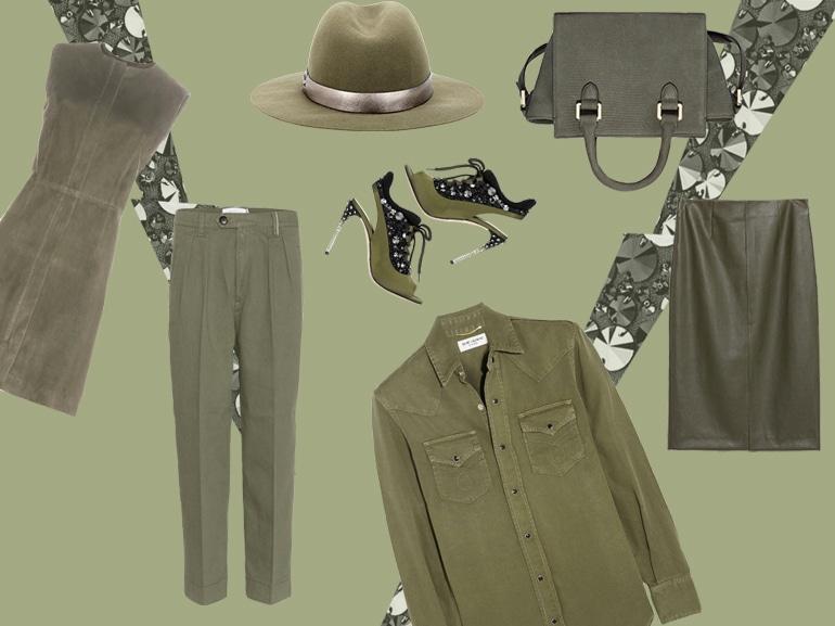 cover tendenza verde militare capi e accessori mobile