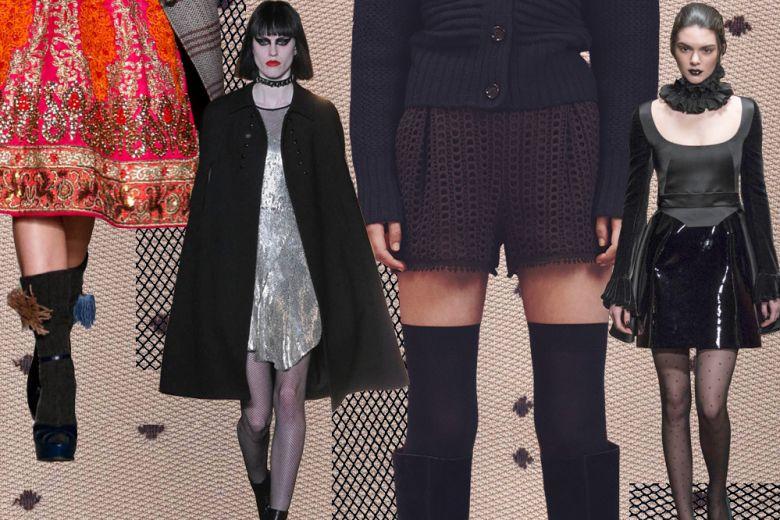 4 modi di portare calze e collant per l'Autunno-Inverno 2015