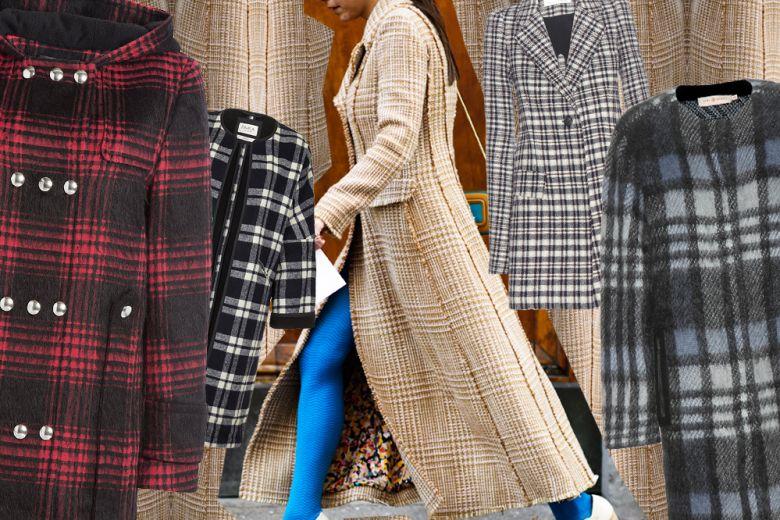 I cappotti a quadri per l'inverno 2015