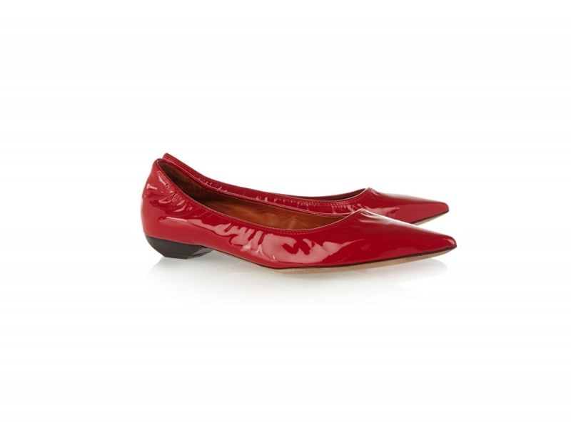 lanvin-ballerine-rosso-vernice