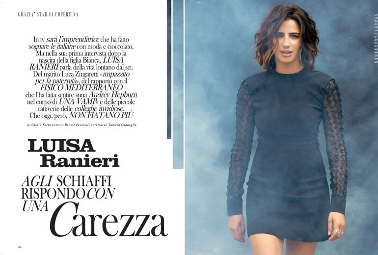 Luisa Ranieri: «Agli schiaffi rispondo con una carezza»