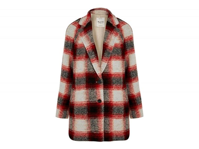 madewell cappotto quadri