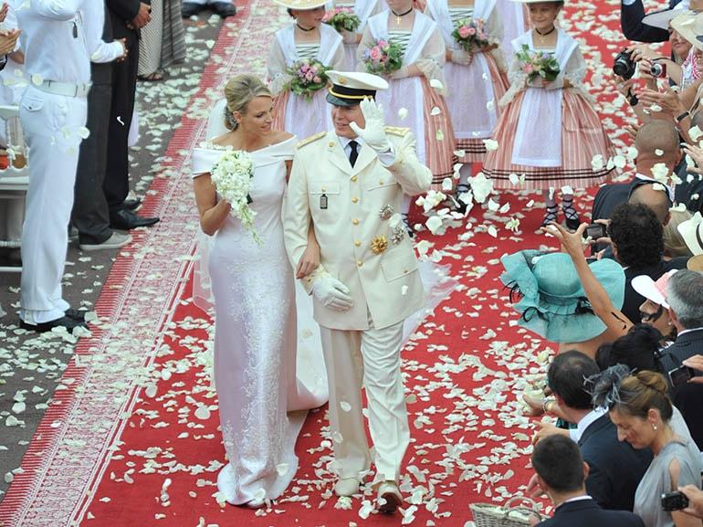 matrimonio principe alberto charlene wittstock