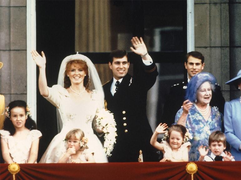 matrimonio sarah ferguson principe andrew