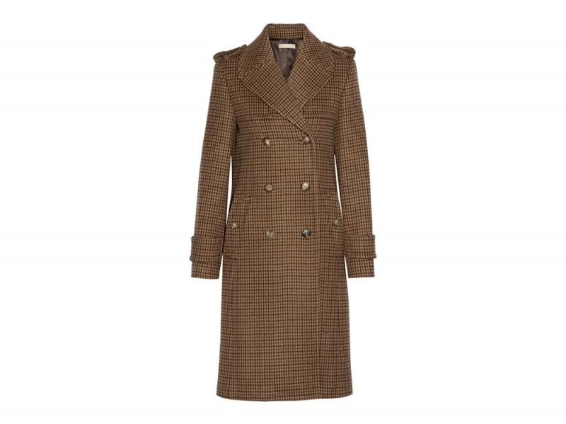 michael kors collection cappotto quadri