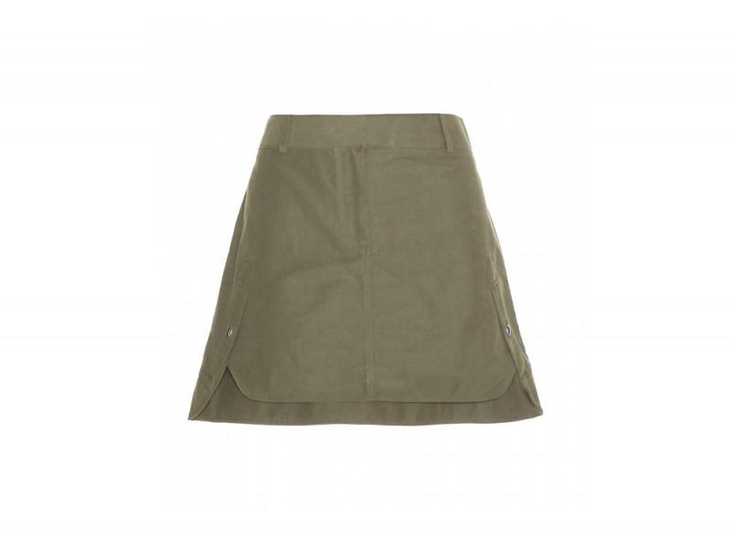 minigonna cotone alexander wang