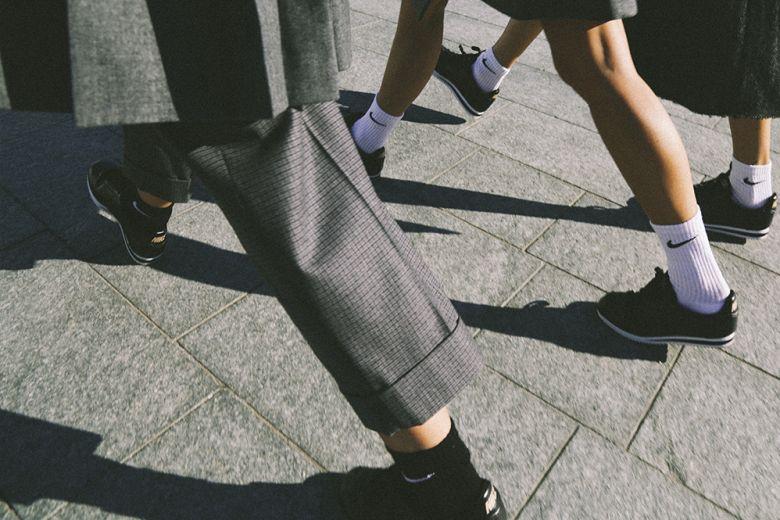 Le nuove Nike Classic Cortez indossate da Chiara Capitani, Gilda Ambrosio e Michela Meni