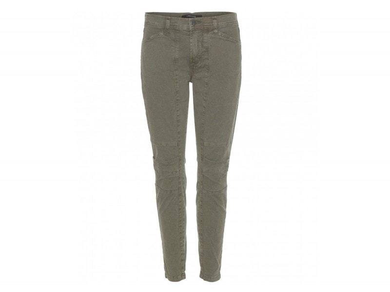 pantaloni casual verdi j brand