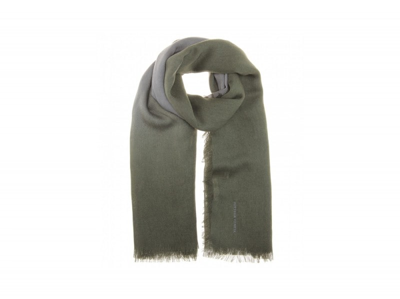 sciarpa verde bottega veneta