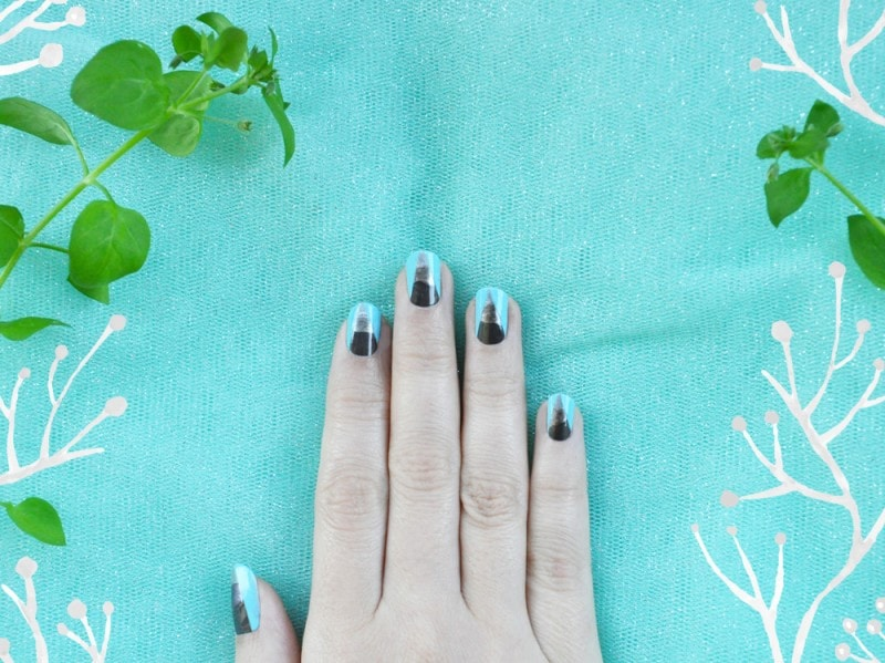 silver-mountains-nail-art