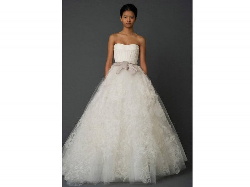 Vestiti da sposa vera wang