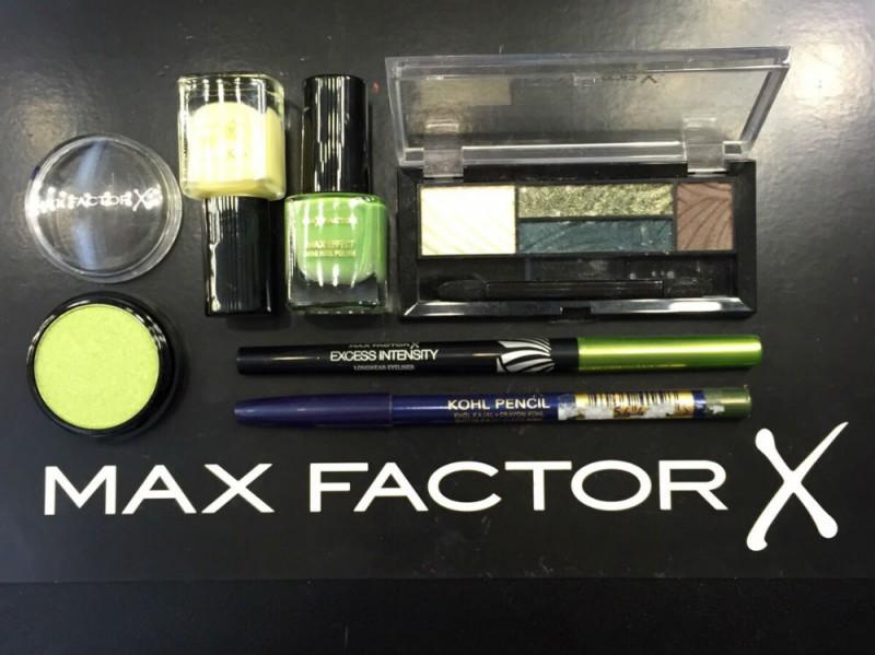 trucchi verdi RAJAN tolomei max factor x factor