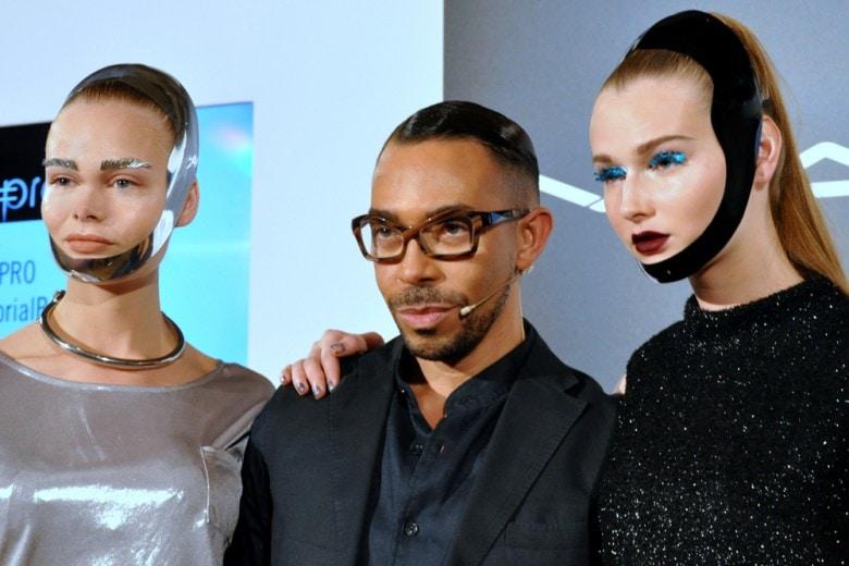 Make up futuristico: il trucco luminoso creato da Romero Jennings di MAC Cosmetics
