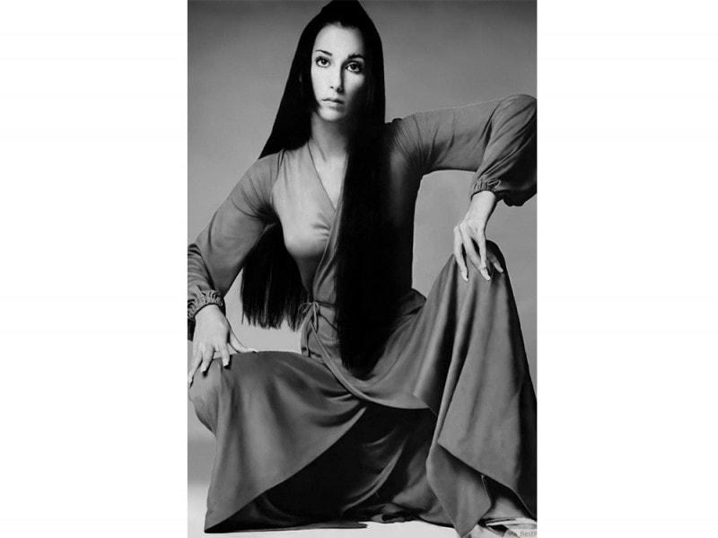 70s Cher – Liscio hippie