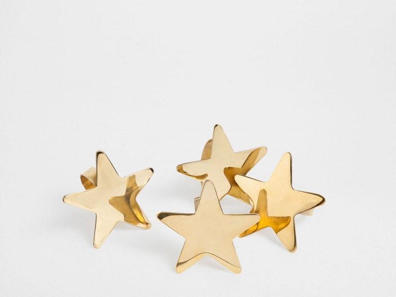 Anche i portatovaglioli sono stelle. Di Zara Home