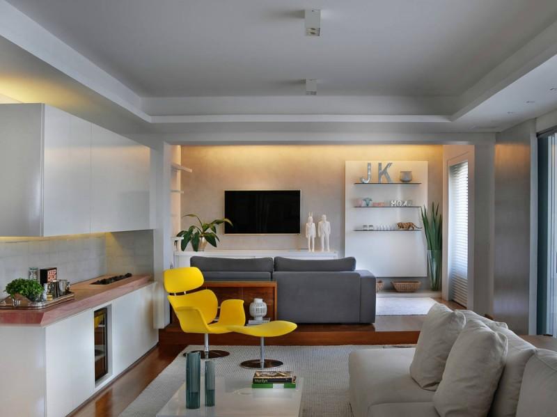 Casa Brasile living room