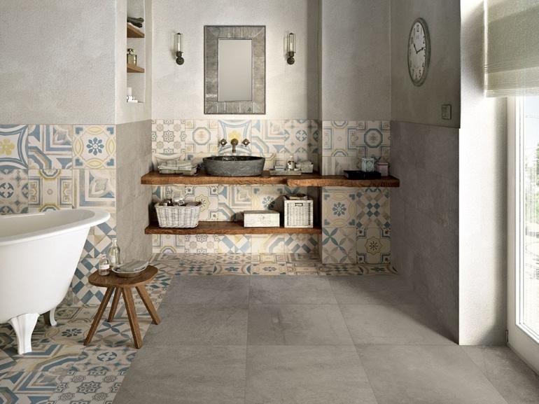 piastrelle per il bagno: come sceglierle e utilizzarle | grazia - Piastrelle Bagno Shabby Chic