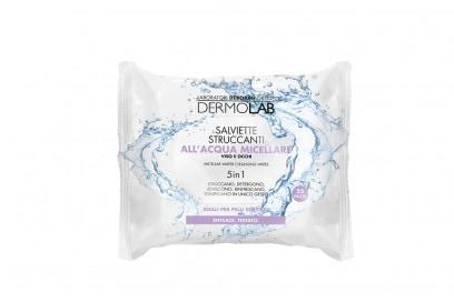 Dermolab-Salviette-Struccanti-all'Acqua-Micellare-Idratante